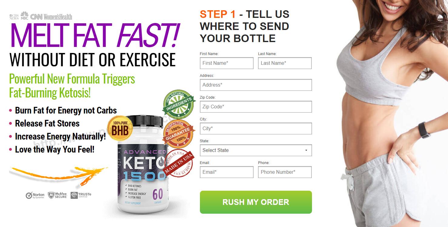 advanced keto 1500 pills